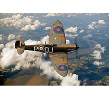 Battle of Britain Spitfire Photographic Print