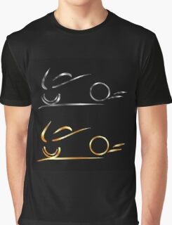 Abstract drawing of motorbike  Graphic T-Shirt