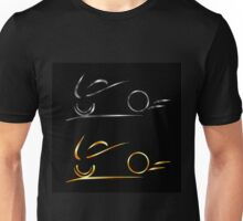 Abstract drawing of motorbike  Unisex T-Shirt