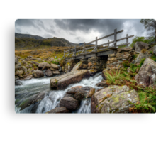 Wooden Bridge Canvas Print