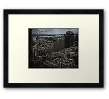 Dusk over Kings Cross (Sydney) Framed Print