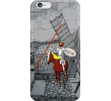 Don Quixote Meets a Giant iPhone case iPhone Case/Skin