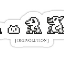 Digivolution Sticker