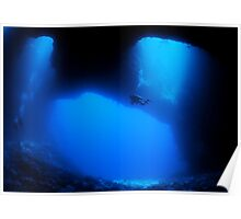 Blue Holes, Palau Poster