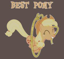 Applejack Lasso Trick With Text Kids Clothes