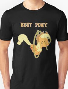 Applejack Lasso Trick With Text T-Shirt