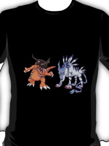 Digimon : Greymon - Garurumon T-Shirt