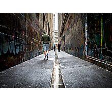 City Lane Photographic Print
