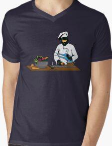 Master Chief / Chef ? Mens V-Neck T-Shirt