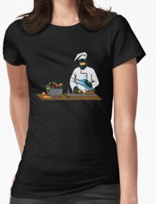Master Chief / Chef ? Womens Fitted T-Shirt