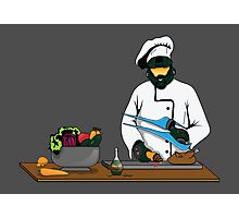 Master Chief / Chef ? Photographic Print