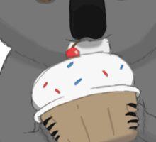 Koala and Cupcake Sticker
