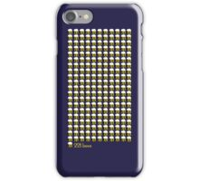 Those are 221 bees iPhone Case/Skin