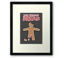 The Walking Dead GingerBread Man Zombies  Framed Print