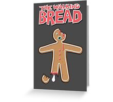 The Walking Dead GingerBread Man Zombies  Greeting Card