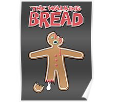 The Walking Dead GingerBread Man Zombies  Poster