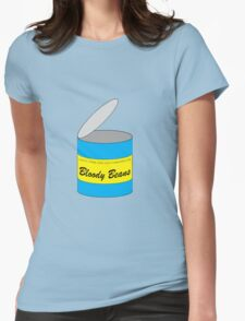 Bloody Beans! Womens Fitted T-Shirt