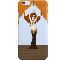 Cute Auburn Haired Bellydancer iPhone Case/Skin