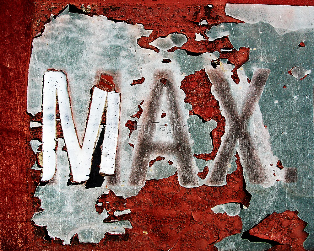 MAX. by Jay Taylor