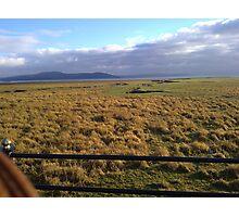 view across morecumbe bay Photographic Print