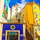 the young tourist and Lisbon morning light by terezadelpilar~ art & architecture