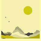 GLACIER NATIONAL PARK, SWIFTCURRENT LAKE by JazzberryBlue