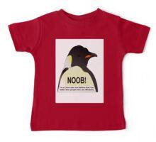 NOOB! I am a Linux snob Baby Tee