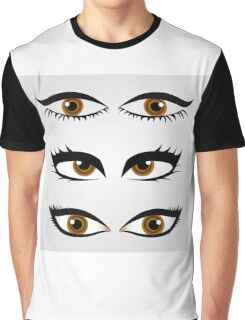 Different types of womens eyes Graphic T-Shirt