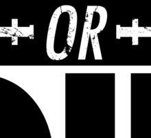 LARP OR DIE Sticker