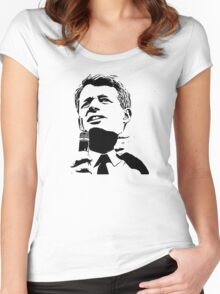 RFK Vector tshirt Women's Fitted Scoop T-Shirt