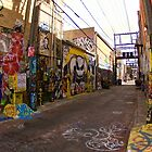 Graffiti Alley by Kate Purdy