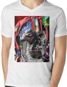 THE RACIST Mens V-Neck T-Shirt