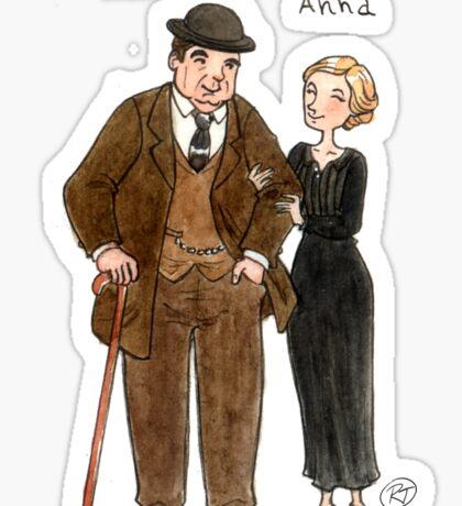 Mr. Bates-Anna Sticker