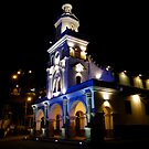 Mirador De Turi Church At Night by Al Bourassa