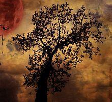 Dripping Moon by Scott Mitchell