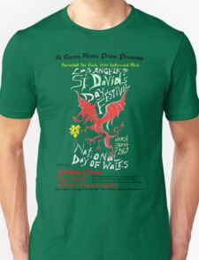 Los Angeles St. David's Day Festival-National Day of Wales 2013 Unisex T-Shirt