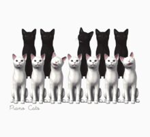 Piano Cats Kids Clothes
