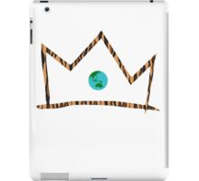 Crown (White) iPad Case/Skin
