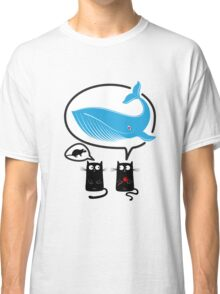 Cats and food Classic T-Shirt