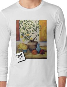 Pear and Apple Long Sleeve T-Shirt