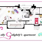 Breakfast at Tiffany&#x27;s Apartment Floorplan v2 by Iaki Aliste Lizarralde