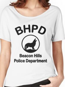 Beacon Hills Police Department Women's Relaxed Fit T-Shirt