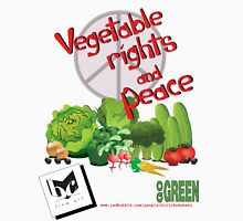 Vegetable Rights and Peace Unisex T-Shirt