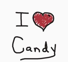 i love halloween candy  by Tia Knight