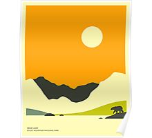 BEAR LAKE, ROCKY MOUNTAIN NATIONAL PARK Poster