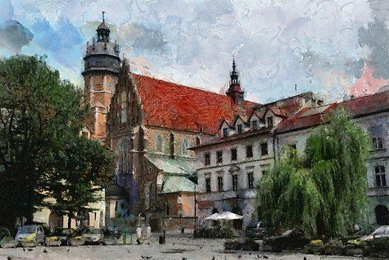 Krakow, Poland by bogfl