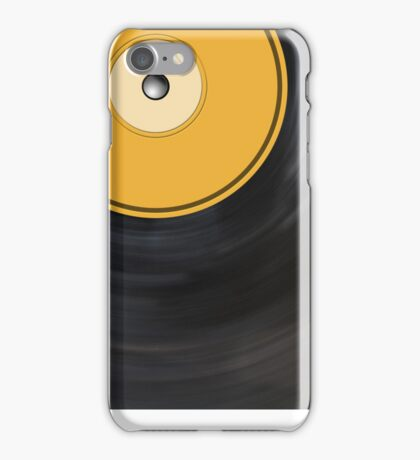 Record iPhone Case/Skin