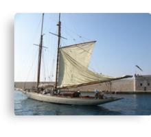 VELE D'EPOCA A CANNES - Vintage sailboats in Cannes - Francia - Europa---VETRINA RB EXPLORE 21 OTTOBRE 2012 --- Canvas Print