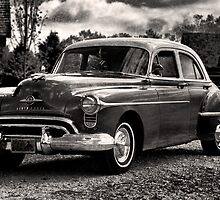 The Test Of Time - 1950 Oldsmobile Rocket 88 by Scott Denny