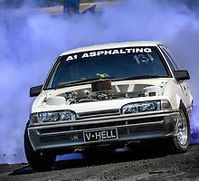 VHELL Burnout by VORKAIMAGERY